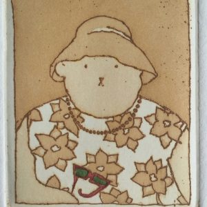 Miami Lade, Harriet Brigdale, etching