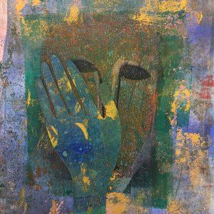 Gold shards, Drawing, Harriet Brigdale, Artist