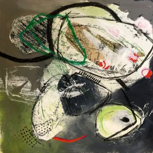 Small connecting lines, Abstract, Harriet Brigdale, Artist
