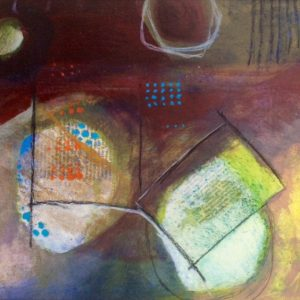 Patterns trying to repeat, Abstract, Harriet Brigdale, Artist