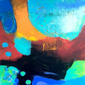 Strong shapes, Abstract, Harriet Brigdale, Artist