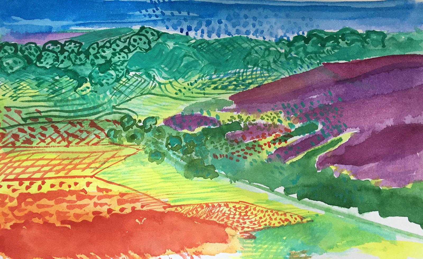 Harriet Brigdale - student's work, Wendy Leach
